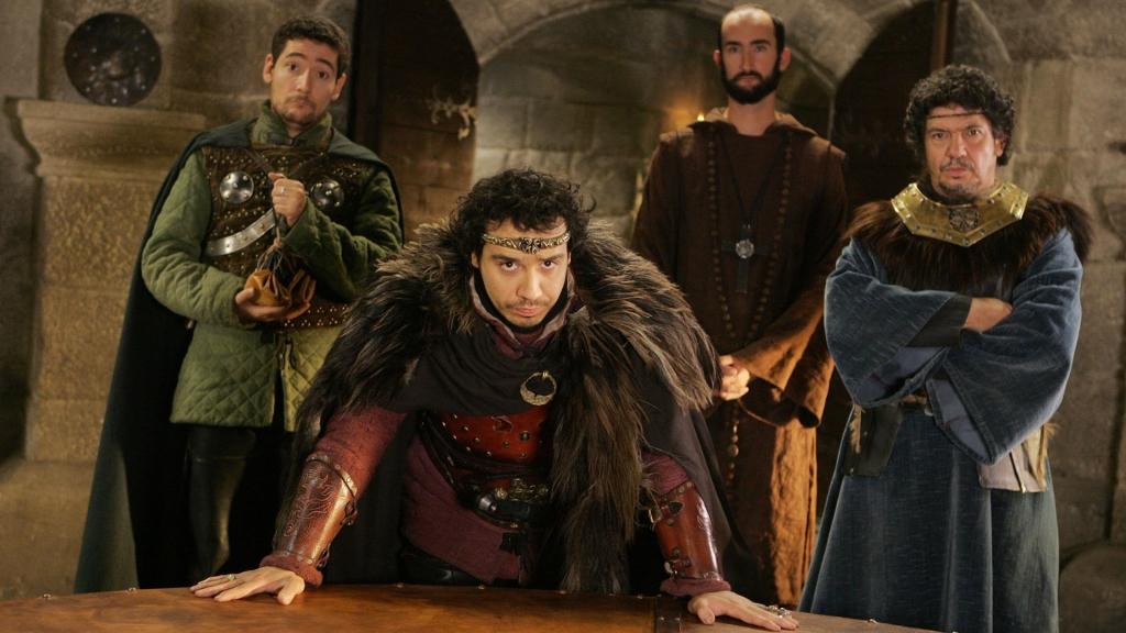 Nicolas GABION, Alexandre ASTIER,  Jean Robert LOMBARD, Lionnel ASTIER, decor avec personnages